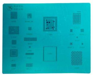 Stencil 3D de Retrabalho CPU A11